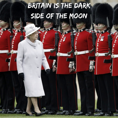 Britain is The Dark Side of The moon