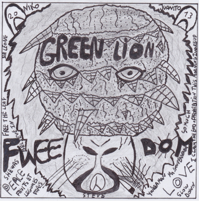 I claim The end of prohibition! * Green Lion