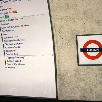 Euston reimagined from a train - cities and memory
