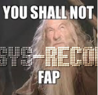 you shall not fap