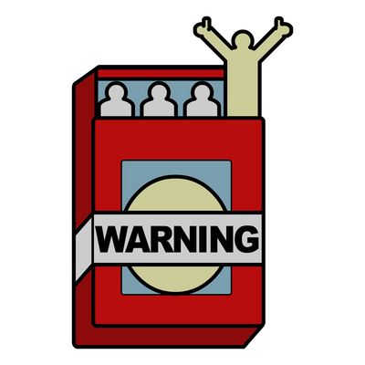 Super Duper Warning Label