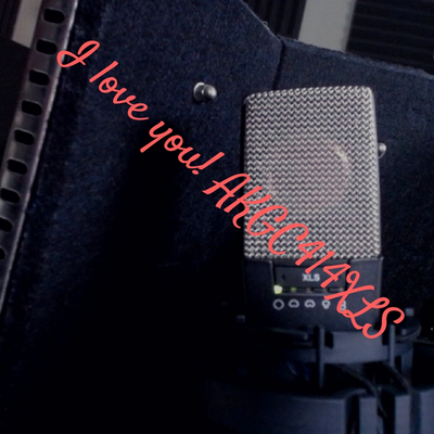 The AKG C414 XLS love song