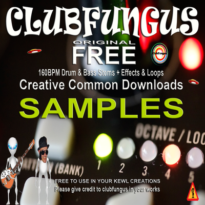 Free Original Creative Common CCO Clubfungus Samples