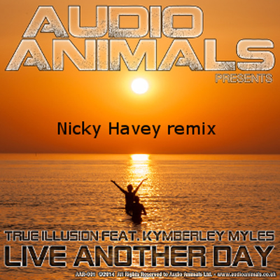 True Illusion feat Kymberley Myles - Live Another Day (Nicky Havey remix)