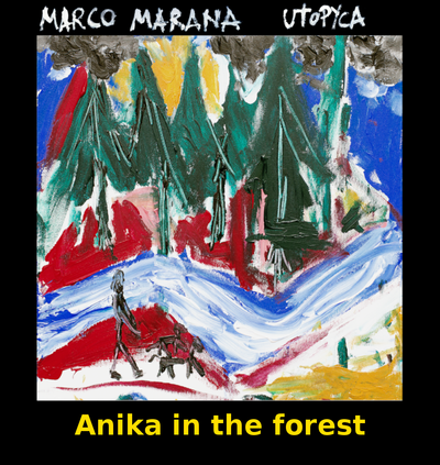 Anika in the forest