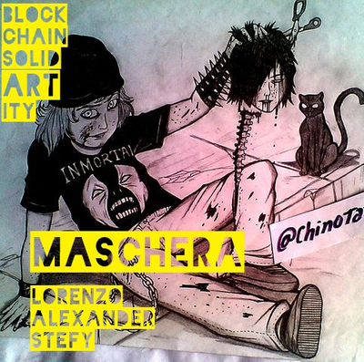 Maschera (SolidARTity with Stefy and Alexander