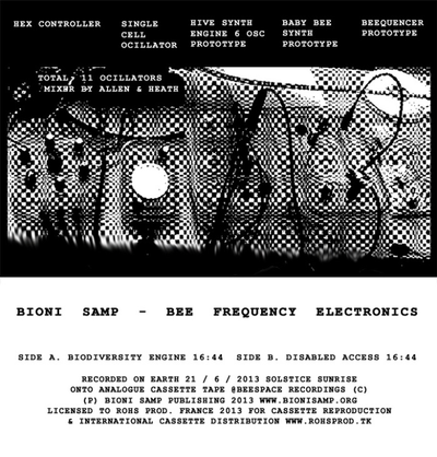 Bioni Samp - Bee Frequency Electronics (cassette recording 001)