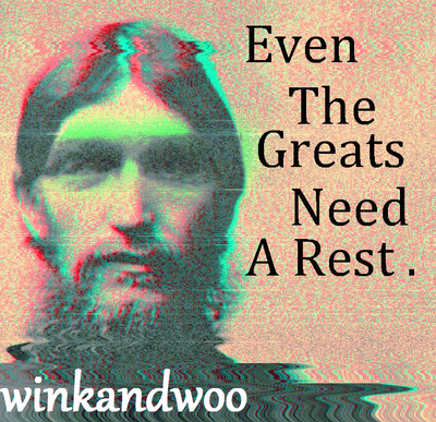 Even The Greats Need A Rest