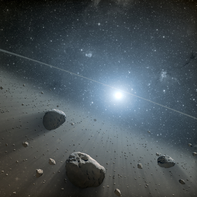 Among the Asteroids