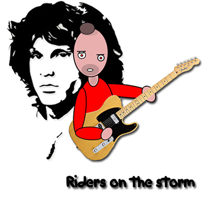 Riders on a storm [feat Jim Morrison]