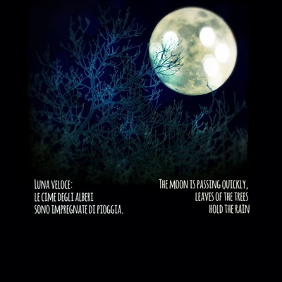 Piano Haiku 02: Luna veloce / The moon is passing quickly