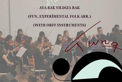 AYA BAK YILDIZA BAK (FUN, EXP. FOLK ARR., WITH ORFF INST.S)