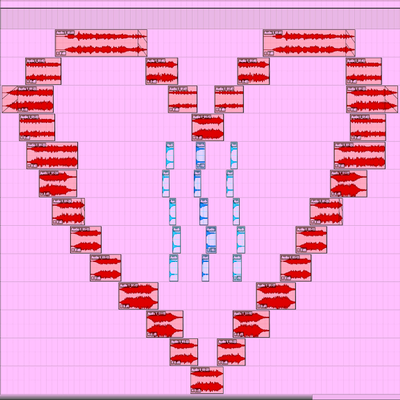 A Heart To All - A Valentines Day Graphic Music Composition