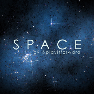 Space - Track by @playitforward