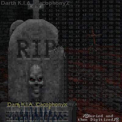 Darth K.I.A. Cacophonyx - A little digital satan